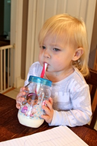 Bryn approved of this tropical oat smoothie