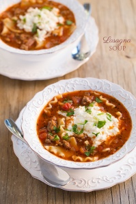 Lasagna Soup from Cooking Classy